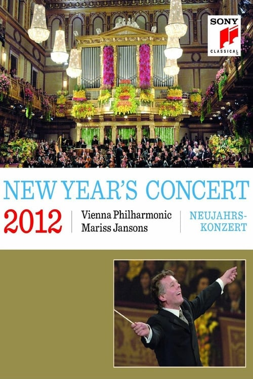 Largescale poster for Vienna Philharmonic New Year's Concert 2012