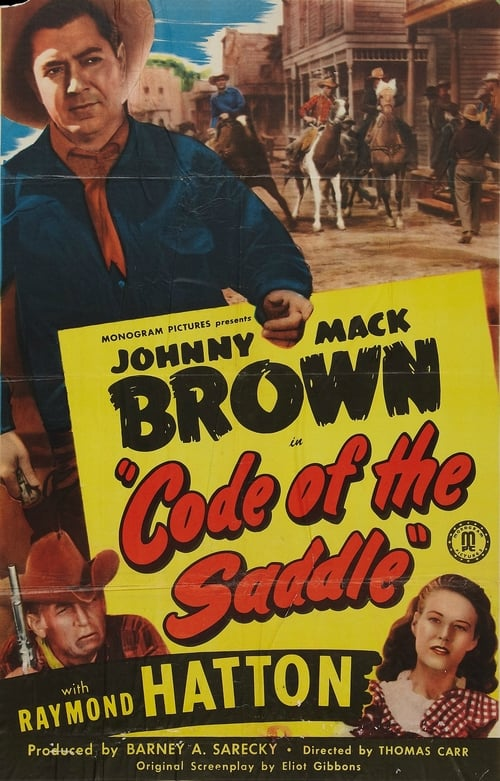 Ver pelicula Code of the Saddle Online