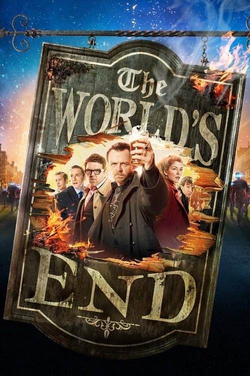 The World's End - Poster
