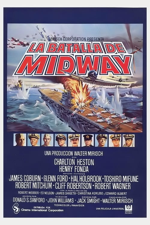 Mira La batalla de Midway En Buena Calidad Hd 1080p