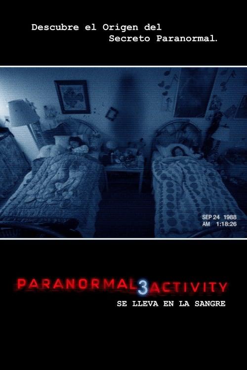 Película Paranormal Activity 3 En Buena Calidad