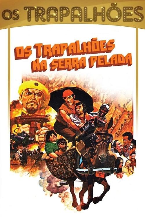 Largescale poster for Os Trapalhões na Serra Pelada