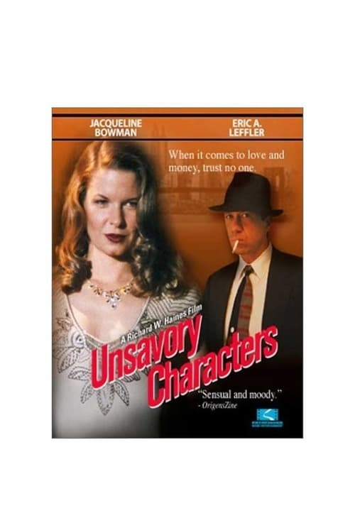 Assistir Filme Unsavory Characters Online