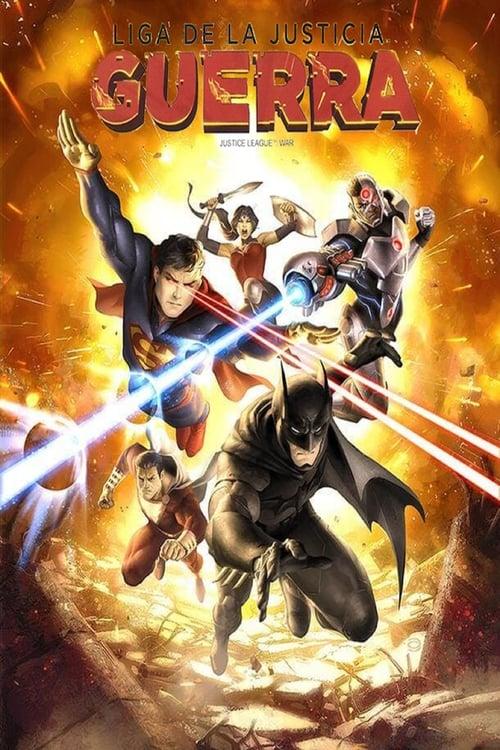 Mira La Liga de la Justicia: Guerra Con Subtítulos En Línea