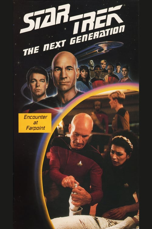 Star Trek: The Next Generation: Encounter at Farpoint (1987) Poster