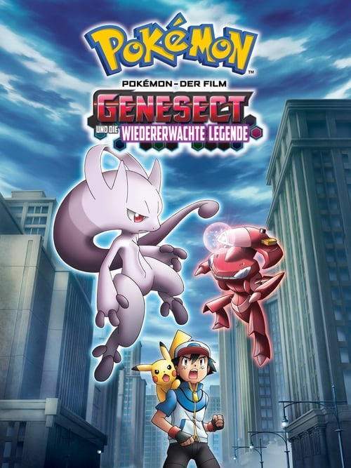 Pokémon 16: Genesect und die wiedererwachte Legende - Action / 2014 / ab 6 Jahre