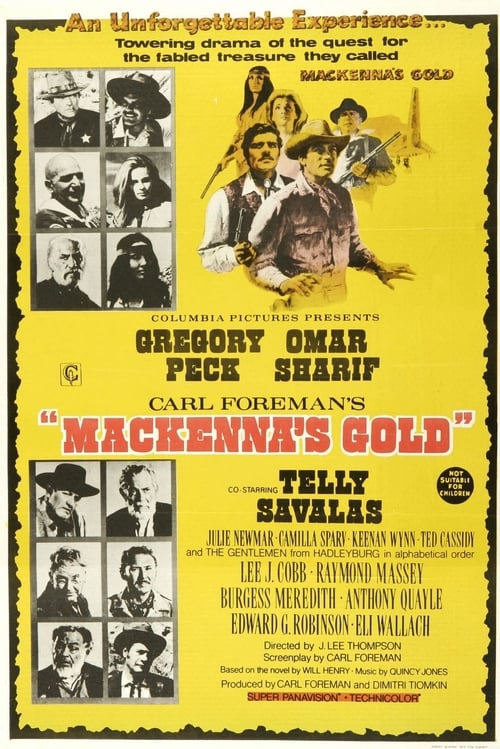 Watch Mackenna's Gold (1969) Full Movie