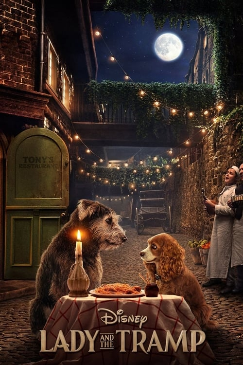 Poster. Lady and the Tramp (2019)