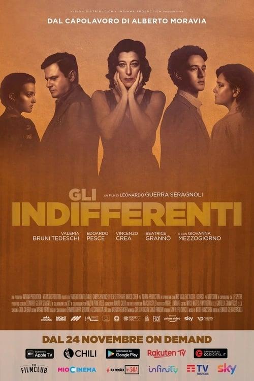 Gli indifferenti poster