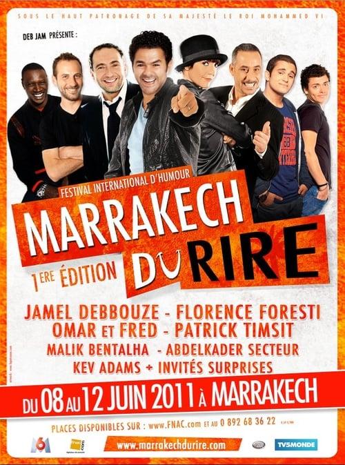Jamel et Ses Amis Au Marrakech Du Rire 2011 poster