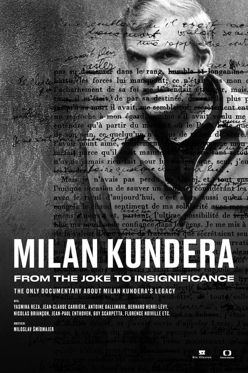 Milan Kundera – From the Joke to Insignificance (2021) Poster