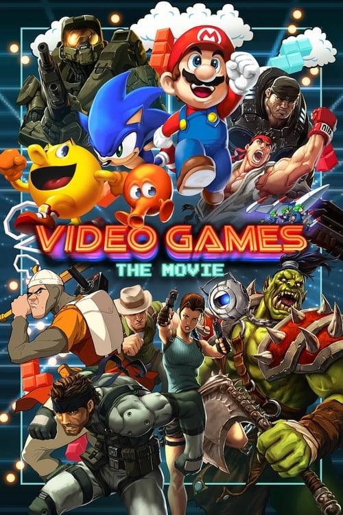 Video Games: The Movie (2014) Poster