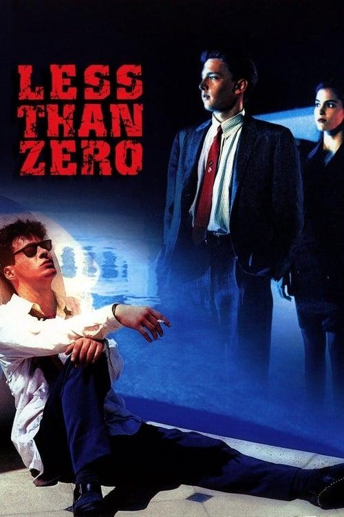 Less Than Zero - Poster