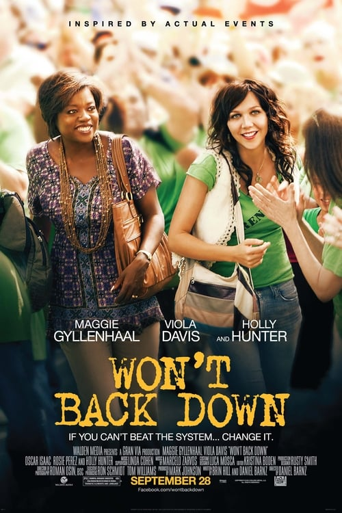 Largescale poster for Won't Back Down