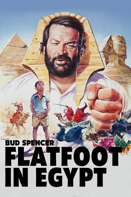 Flatfoot in Egypt (1980) Poster