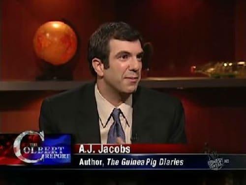 The Colbert Report: Season 5 – Episod AJ Jacobs