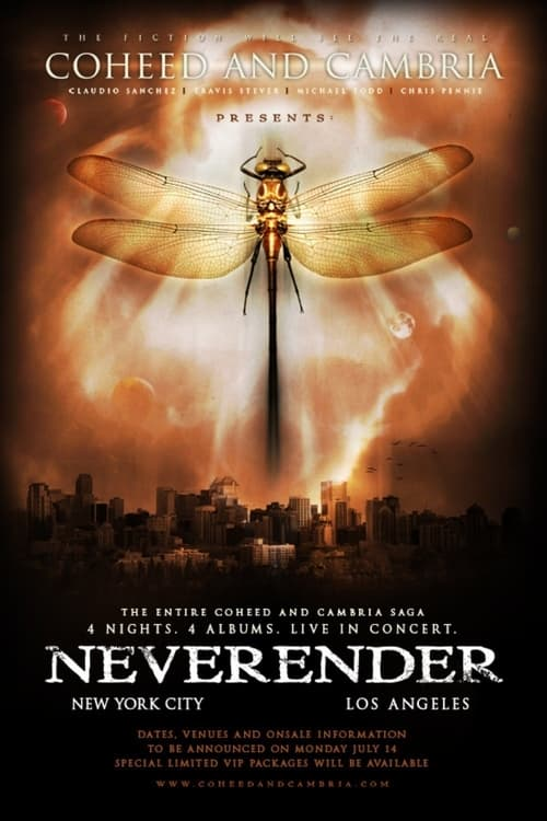 Largescale poster for Coheed and Cambria: Neverender