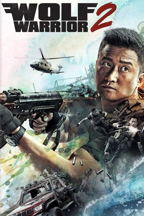 Poster. Wolf Warrior 2