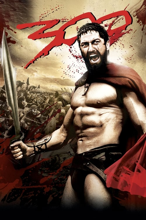 The poster of 300