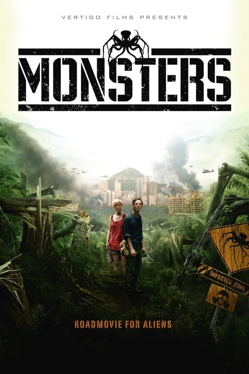 Poster for the movie, 'Monsters'