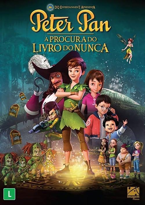 Filme Peter Pan: À Procura do Livro do Nunca Em Boa Qualidade Hd 1080p