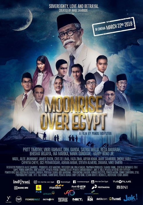 Mira Moonrise Over Egypt En Buena Calidad Gratis