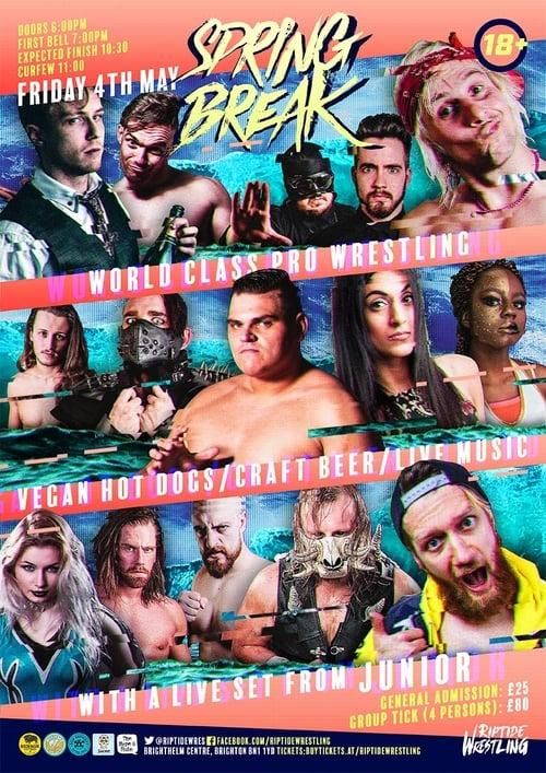 Watch RIPTIDE Wrestling: Spring Break Full Movie Online Free Streaming