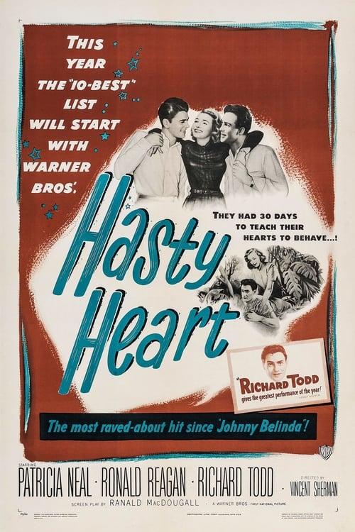 Mira La Película The Hasty Heart Doblada Por Completo
