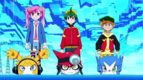 Poster della serie Digimon Universe: Appli Monsters