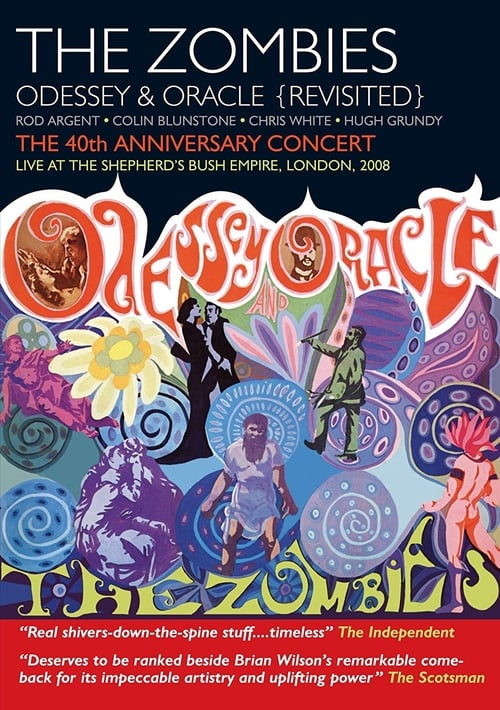 The Zombies: Odessey & Oracle (Revisited) - The 40th Anniversary Concert poster