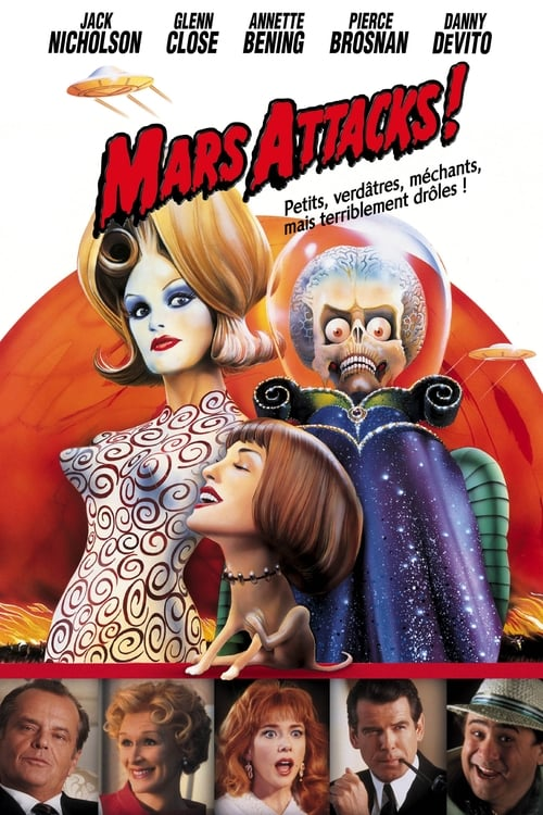 Regarder Mars Attacks! (1996) Streaming HD FR