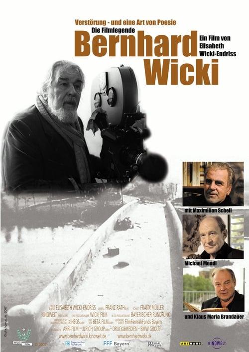 Película Verstörung - und eine Art von Poesie. Die Filmlegende Bernhard Wicki En Buena Calidad