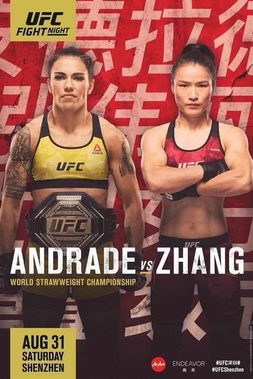 Watch UFC Fight Night 157: Andrade vs. Zhang Online Variety