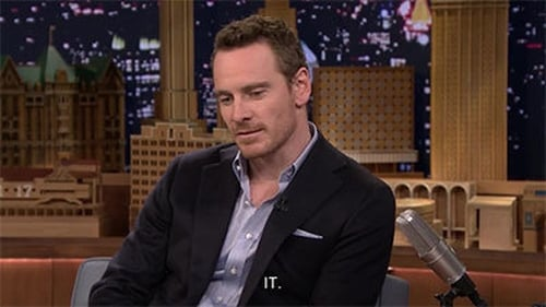 The Tonight Show Starring Jimmy Fallon: Season 1 – Episode Michael Fassbender, Zoe Saldana