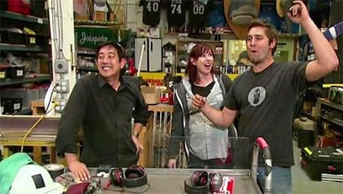 MythBusters: Season 2009 – Épisode Knock Your Socks Off