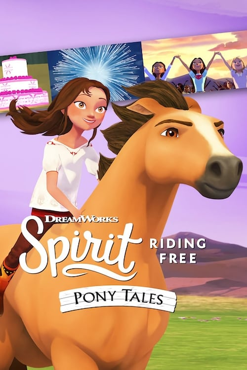 Banner of Spirit Riding Free: Pony Tales