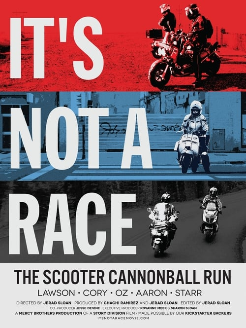 It's Not A Race: The Scooter Cannonball Run (1970)