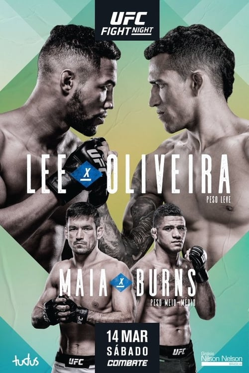 UFC Fight Night: Lee vs. Oliveira English Full Movie Download