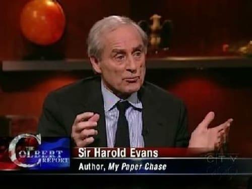 The Colbert Report: Season 5 – Episod Harold Evans