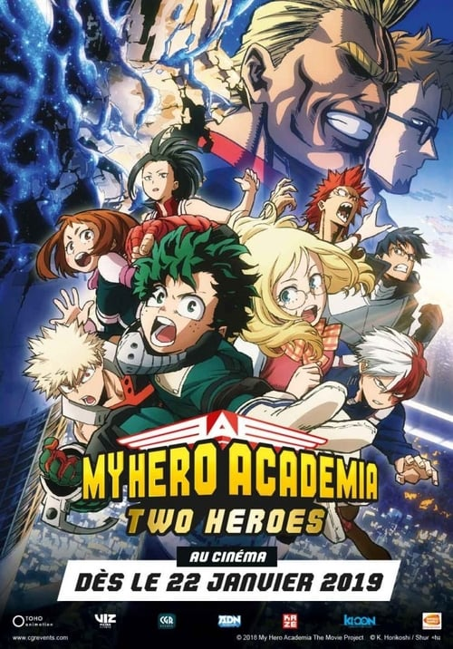 [HD] My Hero Academia : Two Heroes (2018) streaming vf