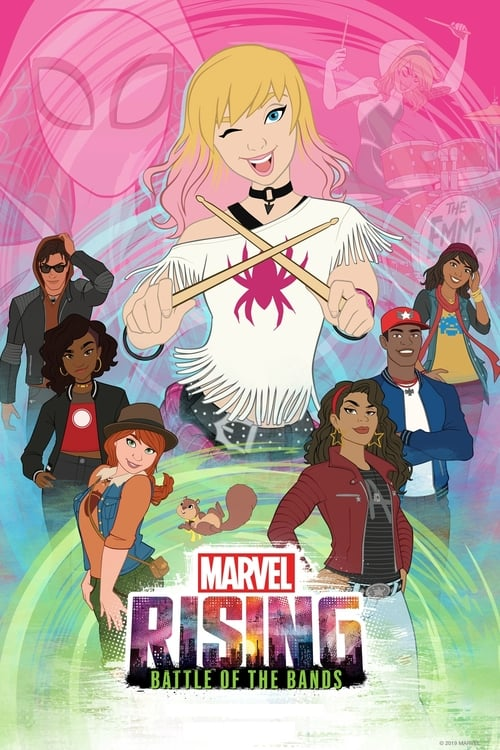 Mira La Película Marvel Rising: Battle of the Bands En Línea