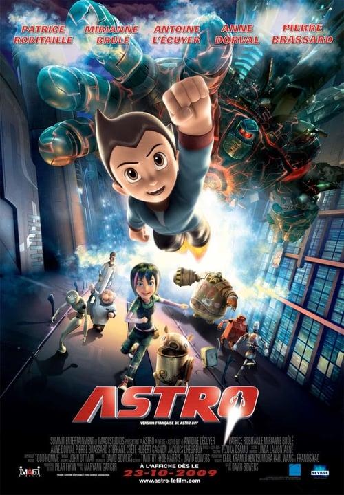 Regarder Astro Boy (2009) streaming fr
