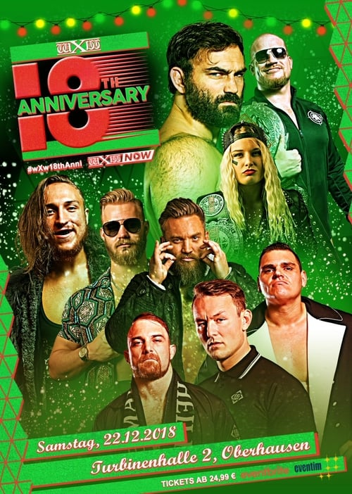 Here page found wXw 18th Anniversary