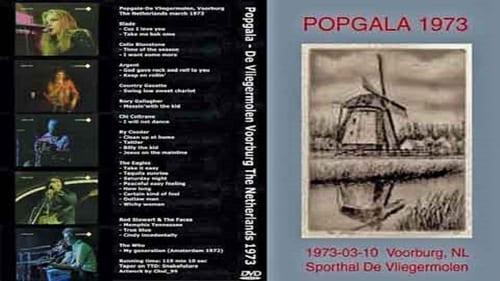 Ver pelicula Popgala - De Vliegermolen, Voorburg, Netherlands (1973) Online