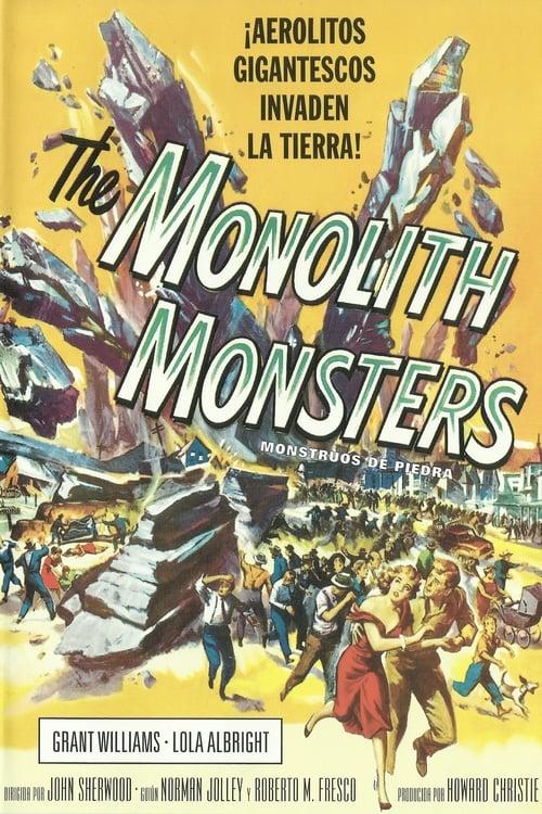 Ver Monstruos De Piedra The Monolith Monsters 1957 Pelicula Completa Gratis Online En Espanol Latino