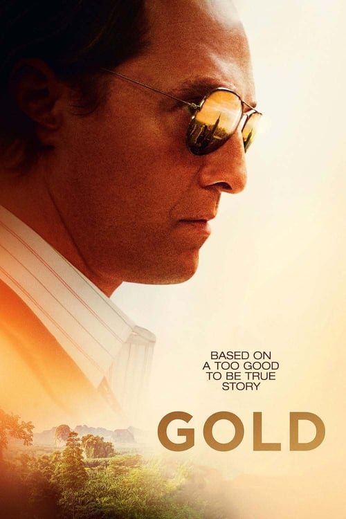Gold poster