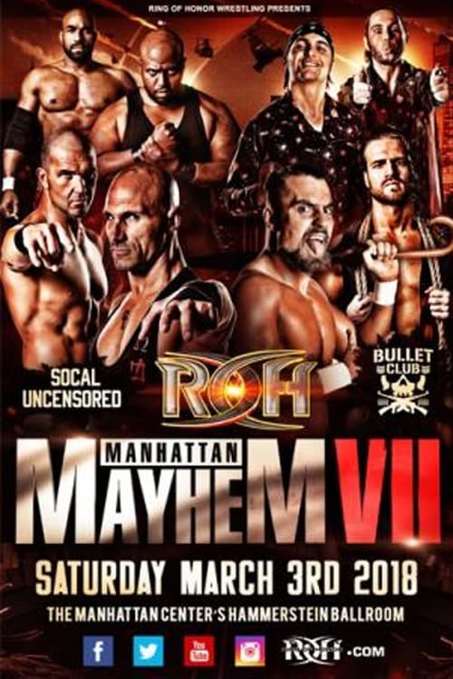 Filme ROH Manhattan Mayhem VII Em Boa Qualidade Hd