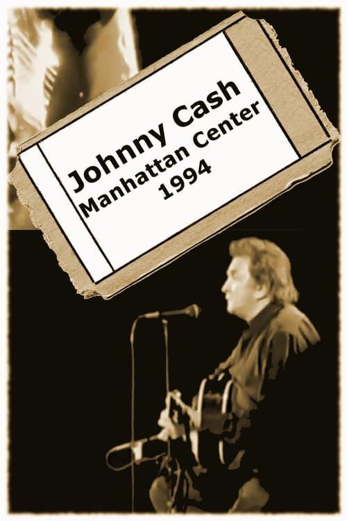 Mira La Película Johnny Cash - Manhattan Center En Buena Calidad Gratis