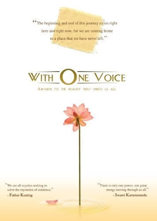 With One Voice (2009) Poster