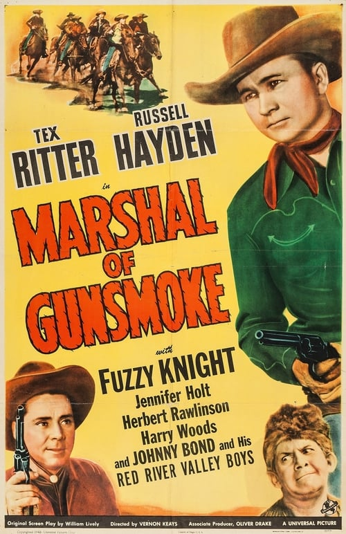 Ver pelicula Marshal of Gunsmoke Online